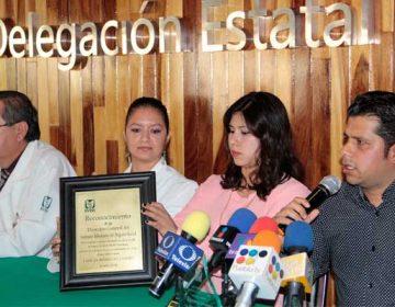"""Médicos del IMSS Puebla salvan a mujer con """"hígado roto"""""""
