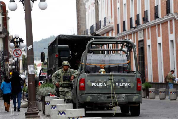 Se intensifica presencia militar en la capital