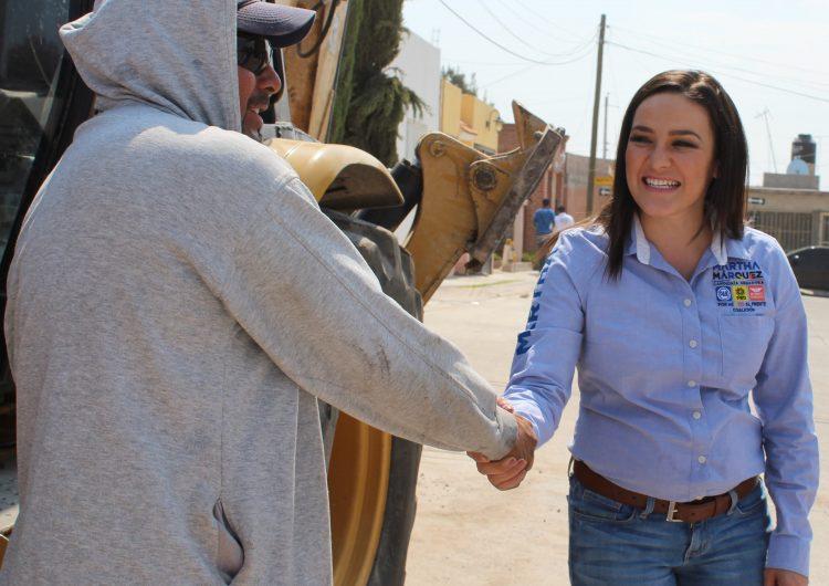Impulsará Martha Márquez Salario digno y equitativo