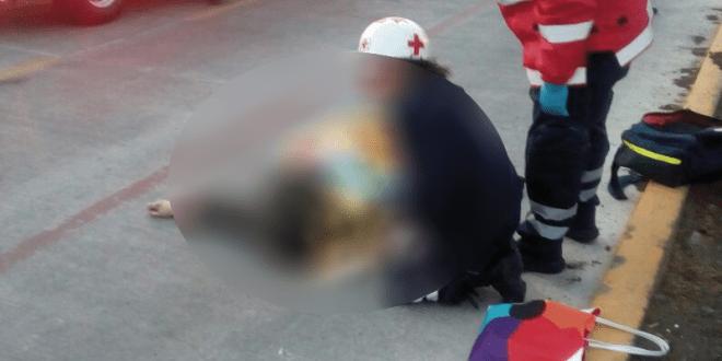 Mata Tuzobús a una mujer en bulevar Téllez