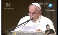 El papa Francisco no se pronunció en contra de Andrés…