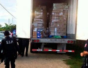 Denuncian industriales 5 robos al mes rumbo a Veracruz