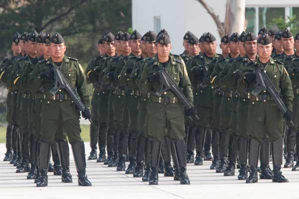 70 aniversario de la Escuela Miliar de Sargentos de la XXV Zona Militar