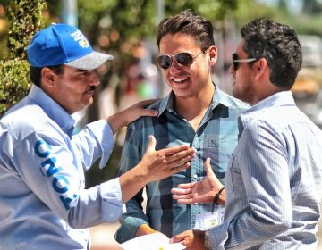 'Trabajaré por y para Aguascalientes desde el Senado': Martín del Campo
