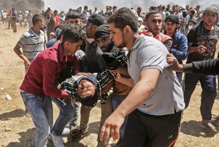 Soldados israelíes matan a 55 palestinos durante las protestas por apertura de embajada de EE. UU.