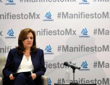 """No va a pasar nada"" con renuncia de Margarita Zavala"