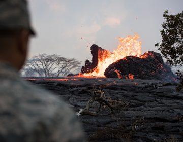 Las erupciones del volcán Kilauea están aumentando la superficie de Hawái