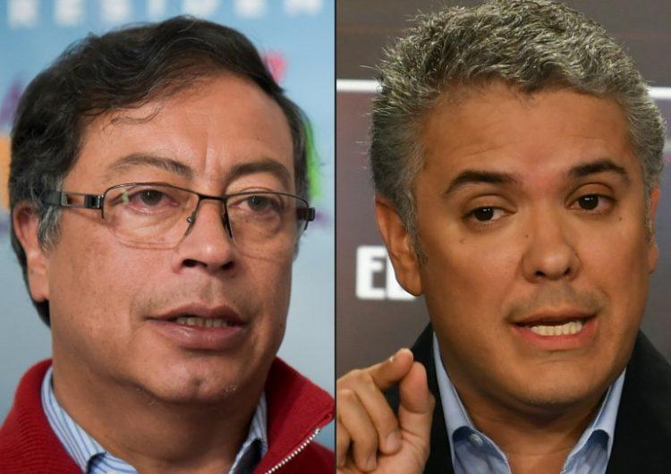 El conservador Iván Duque aventaja presidenciales en Colombia, pero irá a segunda vuelta con el exguerrillero Petro