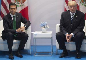 """Trump insiste en que México pague por el muro; Peña responde en Twitter que eso """"nunca"""" sucederá"""