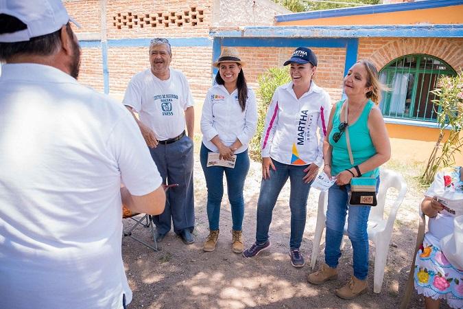 Impulsará Martha González leyes a favor de la economía de zonas rurales