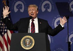 """""""América tiene un presidente provida"""", dice Trump al apoyar agenda contra el aborto"""