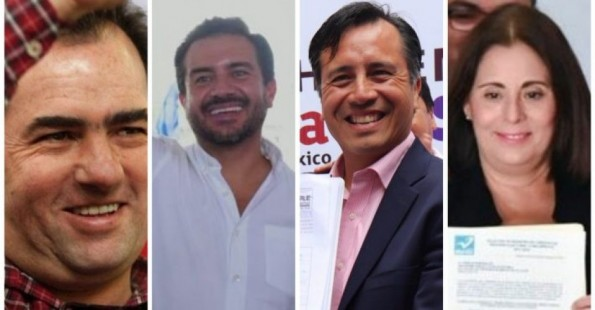 Candidatos a gobernador en Veracruz debaten y usan información engañosa
