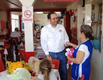 Promete José Carlos Lozano, no permitir más impuestos