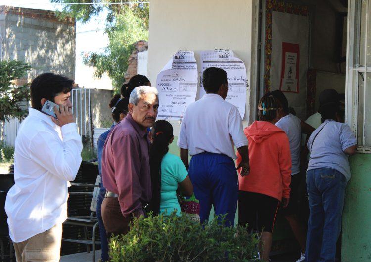 Votan en Aguascalientes poco más de la mitad de la lista electoral: INE