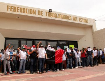 Quieren sindicatos foráneos 'acarreo' de materiales en Aguascalientes