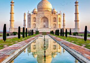¿Una de las siete maravillas del mundo en peligro? El Taj Mahal se está poniendo verde