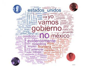 Palabras con cuerpo: Discurser@ grafica el segundo debate