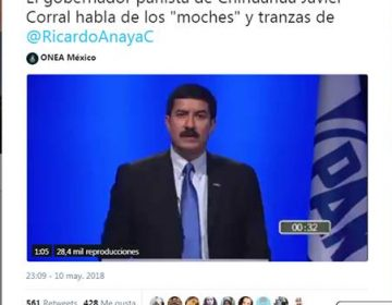 Javier Corral sí criticó a Ricardo Anaya…pero hace tres años, no ahora
