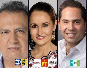 """Candidatos al Senado en Oaxaca """"ensayan"""" debate"""