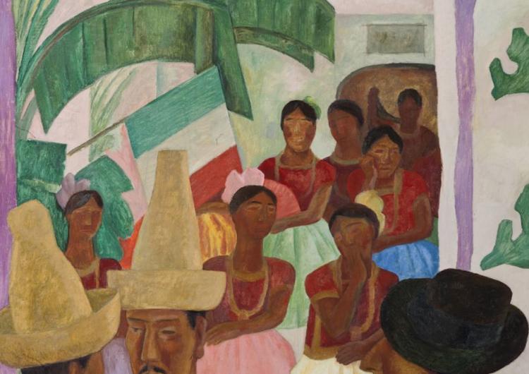"""""""Los Rivales"""" de Diego Rivera, la obra latinoamericana más cara vendida en subasta"""