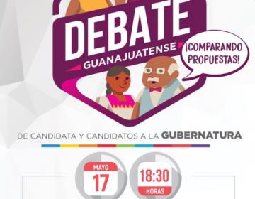 ¿Qué necesitas saber sobre el primer #DebateGuanajuatense?
