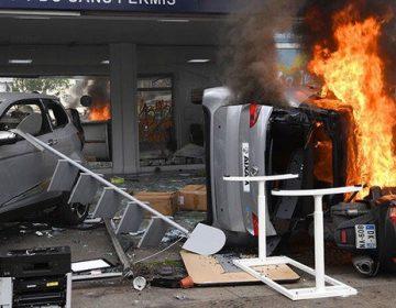 París en llamas y con heridos por manifestaciones del Día del Trabajo