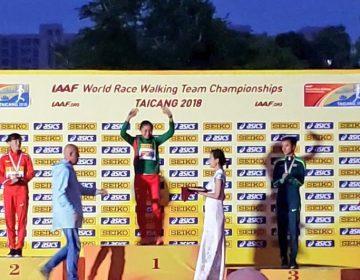 Mexicana Guadalupe González gana oro en Copa del Mundo en China