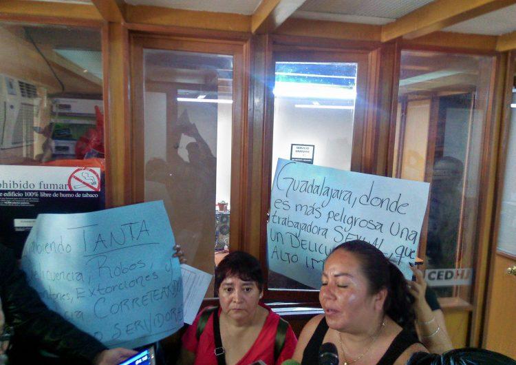 Niega Alcalde de Guadalajara hostigamiento a sexoservidoras