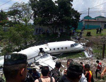 Avión se accidenta en aeropuerto de Honduras; hay seis estadounidenses heridos