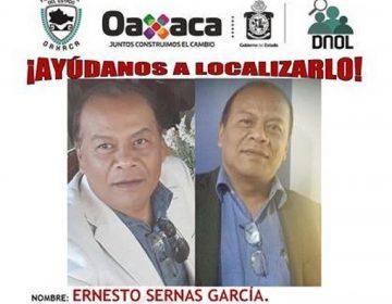 Denuncian desaparición de defensor de presos políticos en Oaxaca