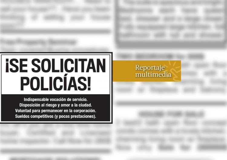 Agentes en fuga: el reto de la policía de Tijuana