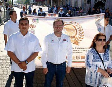 Acompaña Lozano a trabajadores de la FSTSE