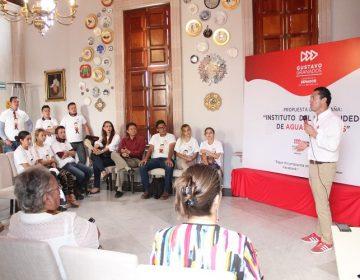 Buscará Gustavo Granados creación del Instituto del Emprendedor de Aguascalientes