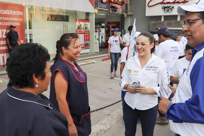 Impulsará Martha Márquez Ley de Participación Ciudadana en el Senado