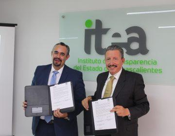 Firman convenio de colaboración ITEA y CDHEA para el fortalecimiento de la cultura de transparencia