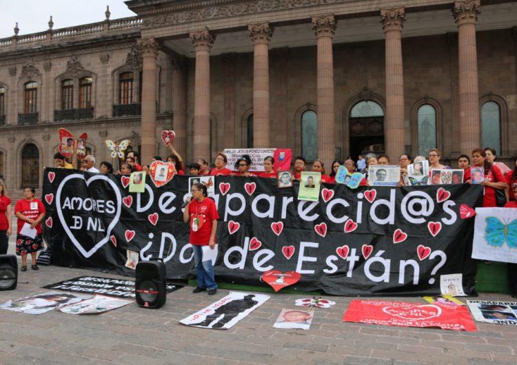 Familias de desaparecidxs en NL esperan buena gestión de Balderas Rodríguez