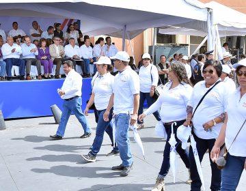 Saldo blanco en desfile por el Día del Trabajo