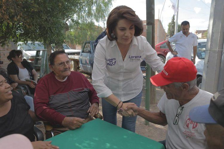 Insiste Lorena Martínez en cambio de titular de la Policía Estatal