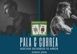 """Pala y Andrés Correa los """"Socios Ociosos"""" visitan México para celebrar los 10 años de su álbum juntos"""