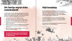 Suecia envía millones de folletos a sus ciudadanos con indicaciones…