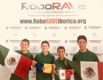 Ocho estudiantes jaliscienses competirán por México en el RoboRAVE 2018