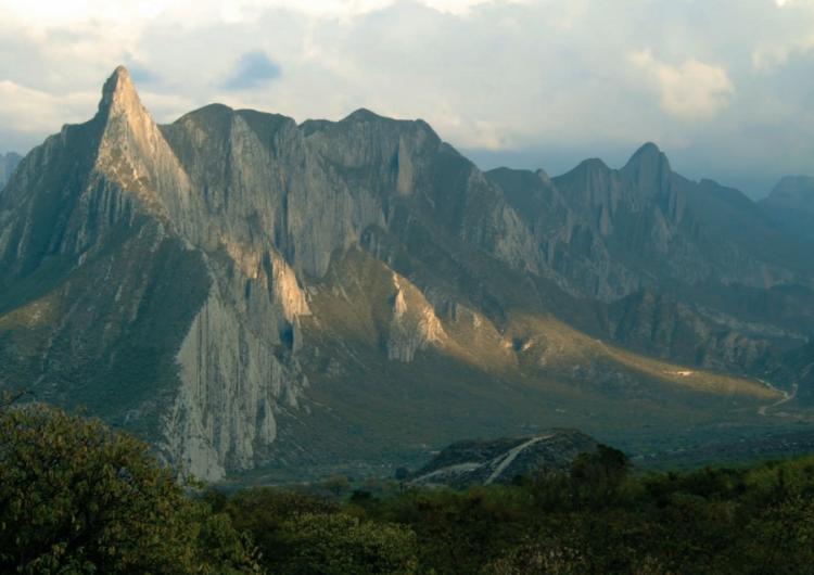 Clausuran obra sin permiso en zona del Parque la Huasteca en Santa Catarina, lugar de ruta de la mariposa monarca