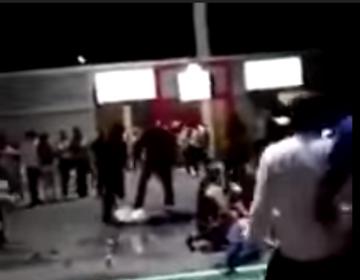 Exhiben golpiza en Expo Guadalupe, NL; hay 10 detenidos