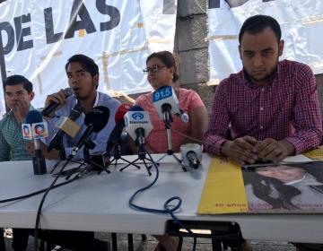 """Apoyarán estudiantes de Jalisco """"Marcha por la Dignidad Nacional"""" en la CDMX"""