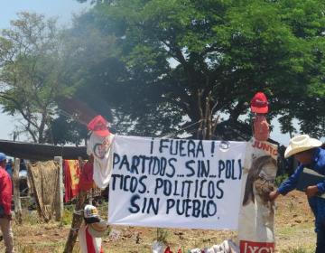 """""""Ya no le vamos a regalar más votos al sistema político"""", wixárikas exigen respuesta de Peña Nieto"""