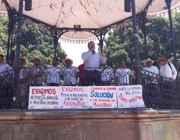 Inicia CNTE paro indefinido en Oaxaca; Istmo mantiene clases