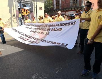 Exigen trabajadores de Salud nombrar titular de la Secretaría en Oaxaca