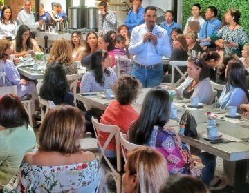 Apoyaré a las mujeres empresarias: Toño Martín del Campo