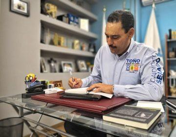 Plantea Toño Martín del Campo estrategia para evitar la reincidencia delictiva