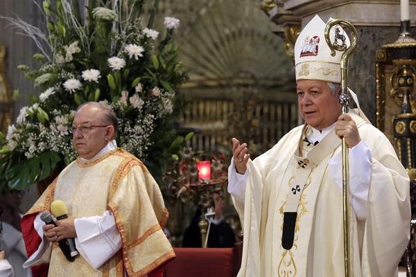 Operativos policíacos deben llegar también al Triángulo Rojo: Arzobispo